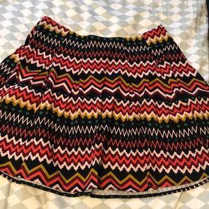Forever 21+ Chevron Print Skirt size XL